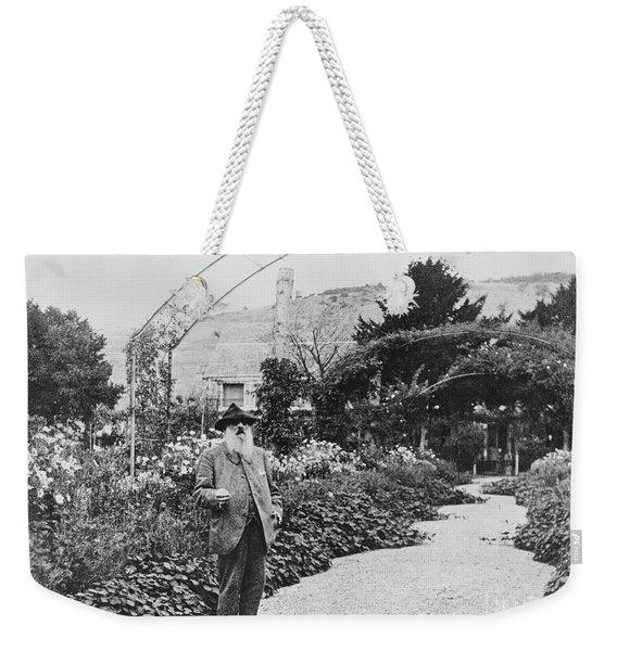 Claude Monet In His Garden Weekender Tote Bag