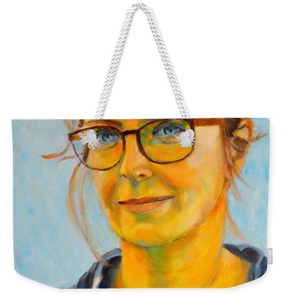Claudia-portrait Weekender Tote Bag
