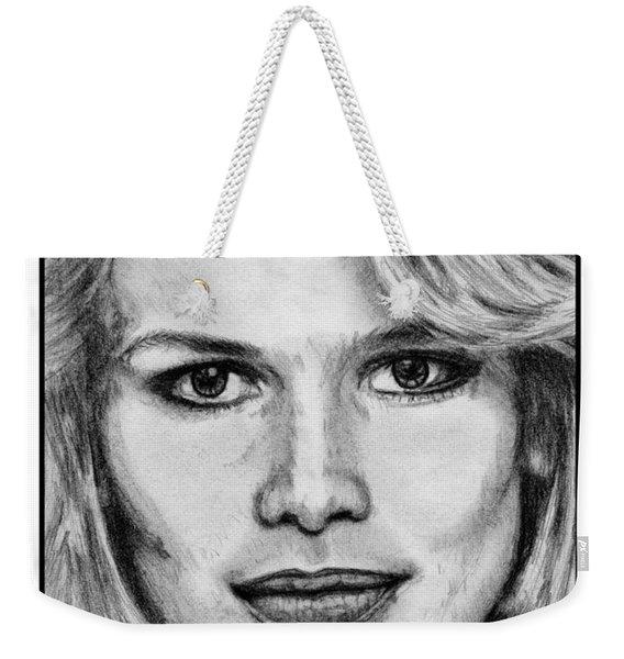 Claudia Schiffer In 1992 Weekender Tote Bag