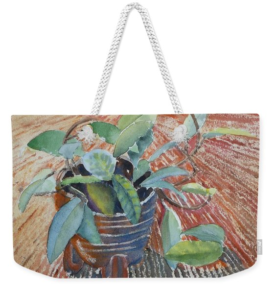 Clay Pot Weekender Tote Bag