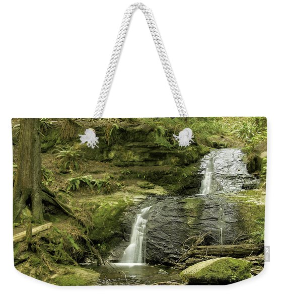 Clayton Beach Falls Weekender Tote Bag