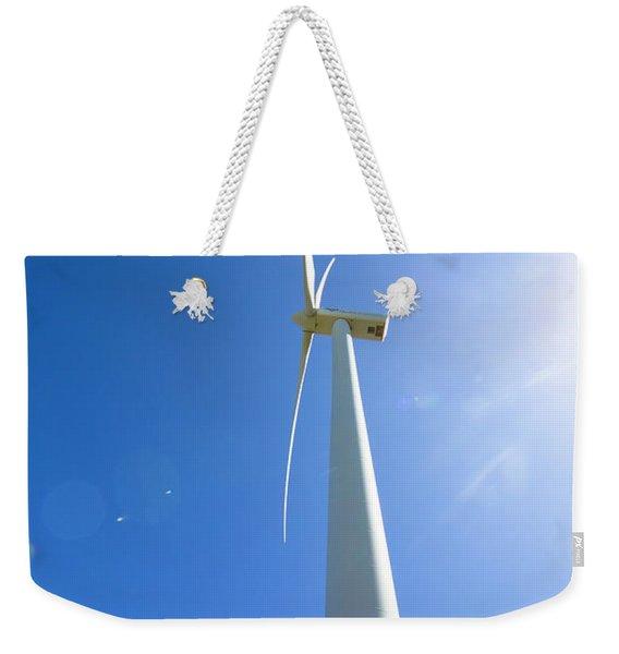 Clean Blue Energy Weekender Tote Bag