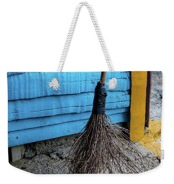 Clean Sweep Weekender Tote Bag