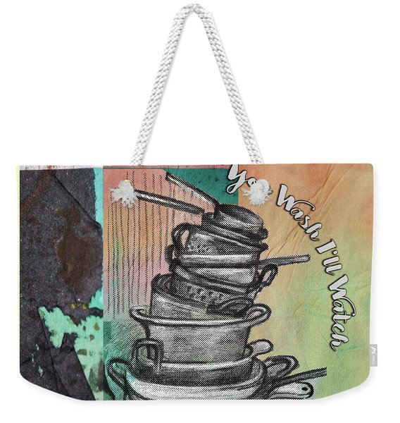 Clean Your Kitchen  Weekender Tote Bag