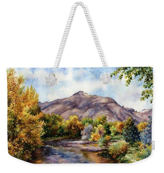 Clear Creek Weekender Tote Bag
