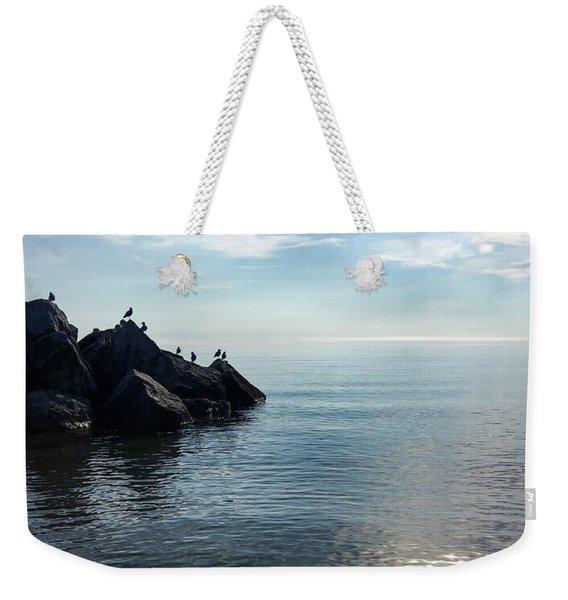 Clear Lake Weekender Tote Bag