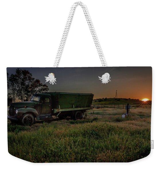 Clear Morning Sunrise Weekender Tote Bag