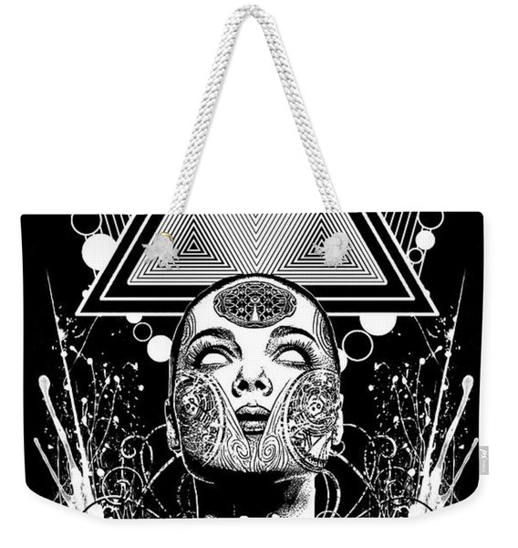 Clear Vibrations  Weekender Tote Bag