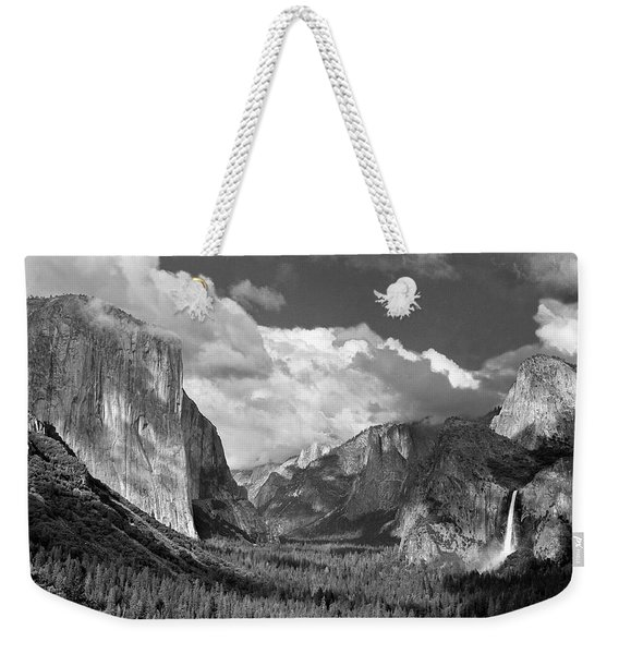Clearing Skies Yosemite Valley Weekender Tote Bag