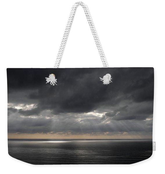 Clearing Storm Weekender Tote Bag