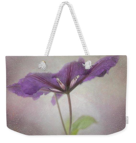 Clematis Eyes Weekender Tote Bag