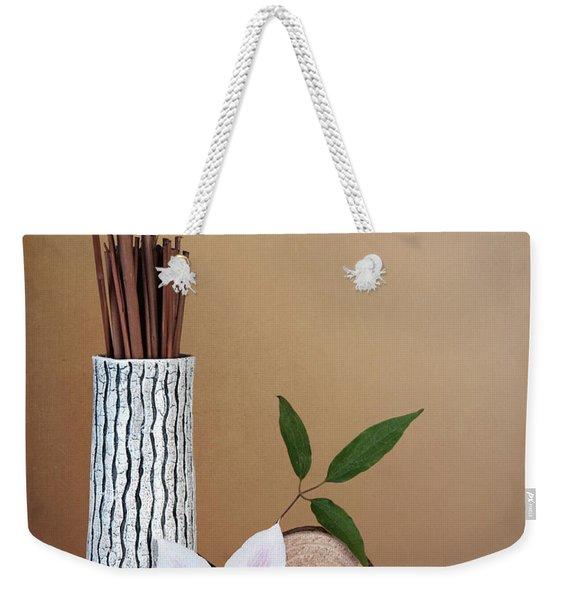 Clematis Flower Still Life Weekender Tote Bag