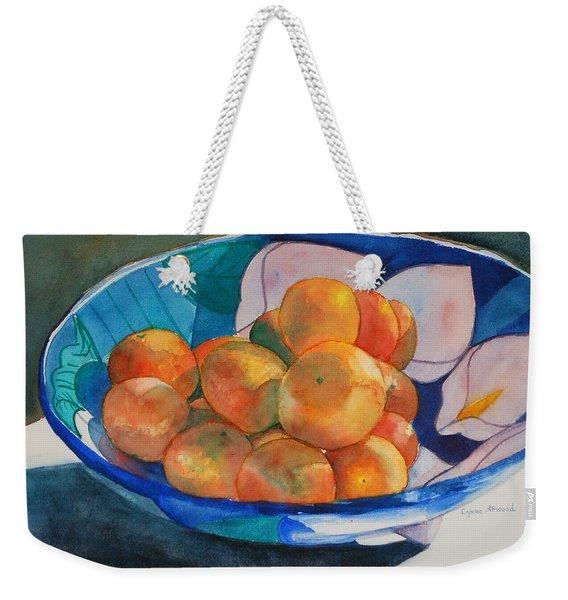 Clementines Weekender Tote Bag