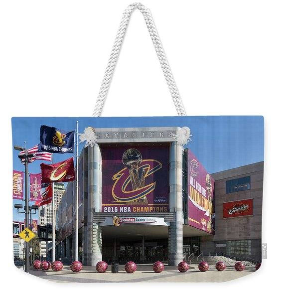 Cleveland Cavaliers The Q Weekender Tote Bag