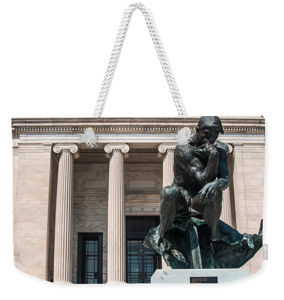 Cleveland Museum Of Art, The Thinker Weekender Tote Bag