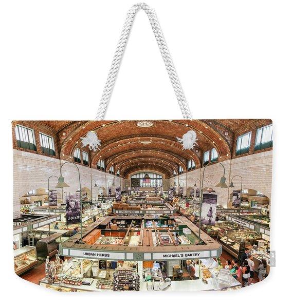 Cleveland Westside Market  Weekender Tote Bag