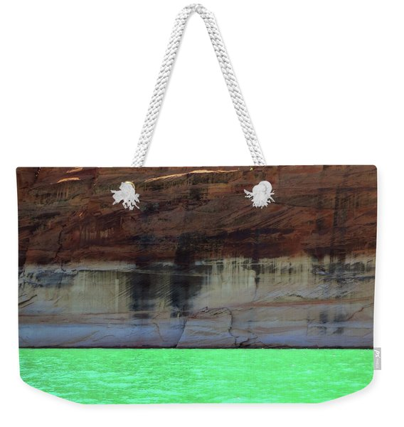 Cliff At Lake Powell Weekender Tote Bag