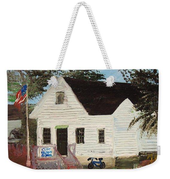 Cliff Island School Weekender Tote Bag