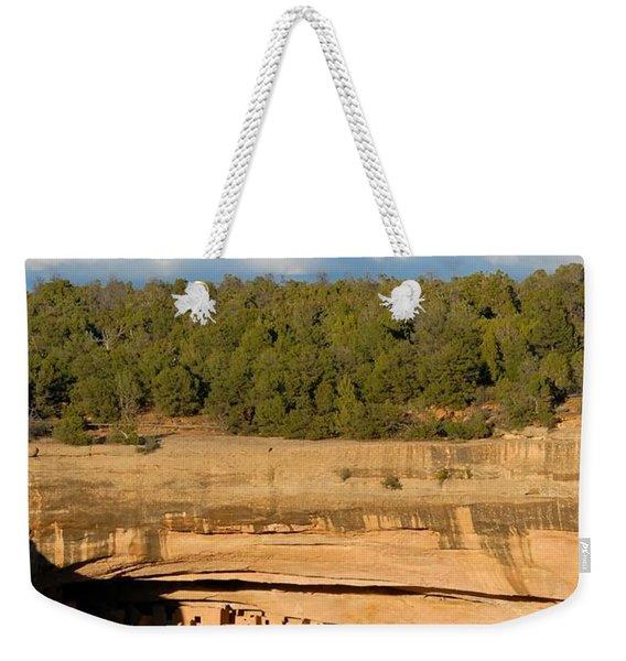 Cliff Palace Landscape Weekender Tote Bag