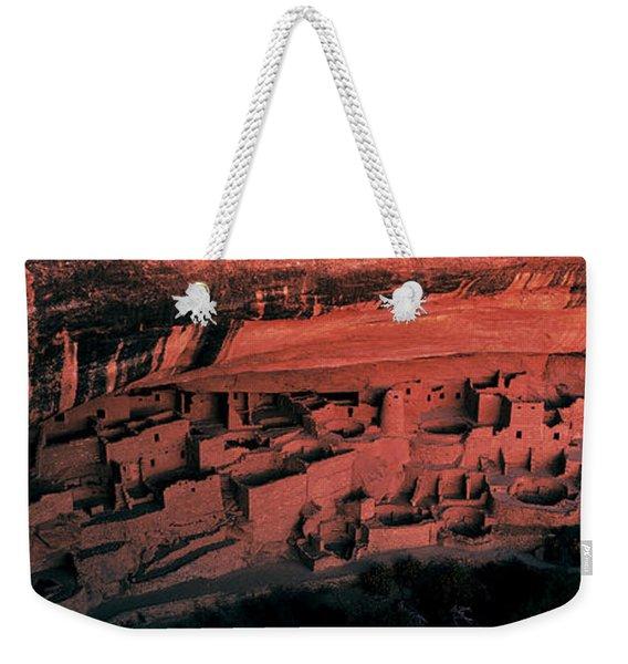 Cliff Palace Mesa Verde National Park Weekender Tote Bag
