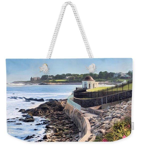 Cliff Walk Weekender Tote Bag