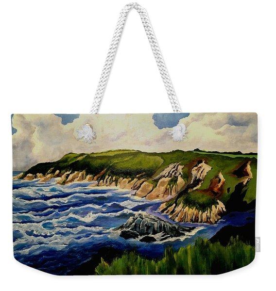 Cliffs And Sea Weekender Tote Bag