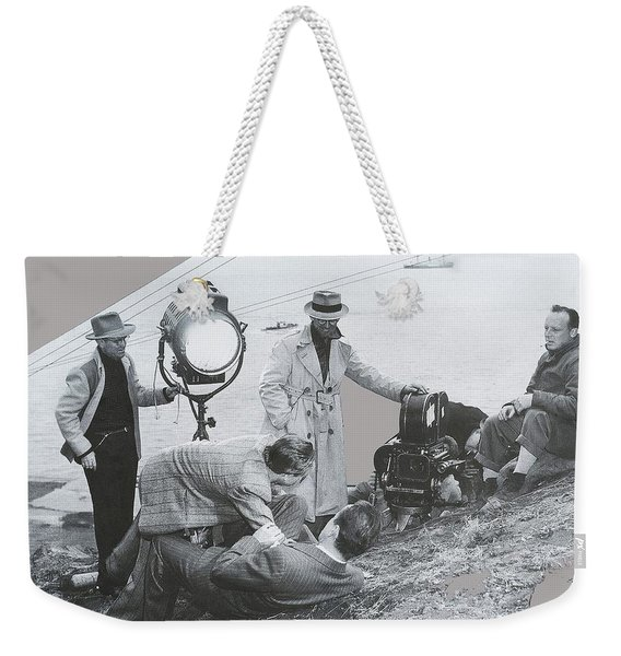Clifton Young And Bogie Fight To The Death Dark Passage 1947-2016 Weekender Tote Bag