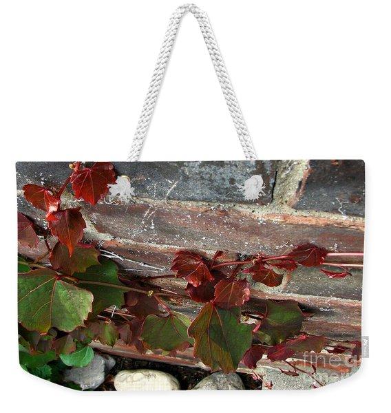 Climbing Ivy Weekender Tote Bag