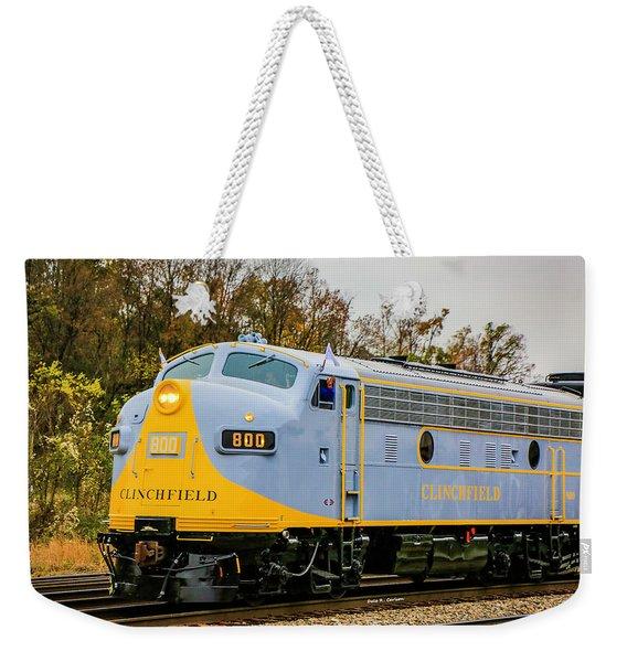 Clinchfield No 800 Weekender Tote Bag