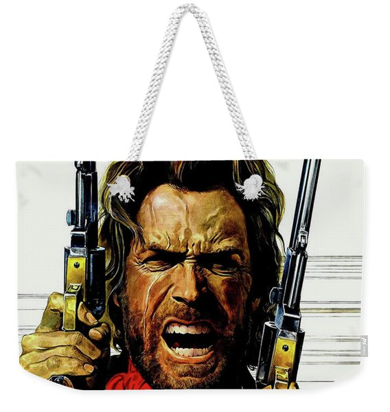 Clint Eastwood As Josey Wales Weekender Tote Bag