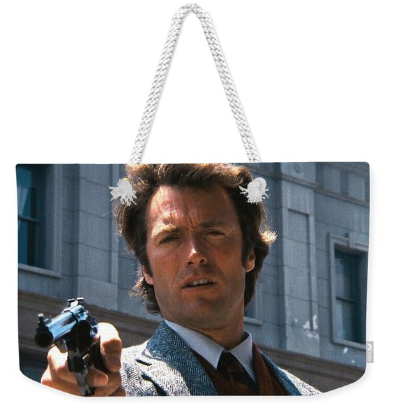 Clint Eastwood With 44 Magnum Dirty Harry 1971 Weekender Tote Bag