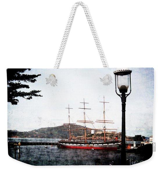 Clipper Ship Weekender Tote Bag