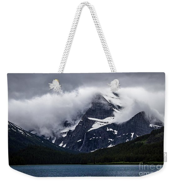 Cloaked In Storm Weekender Tote Bag