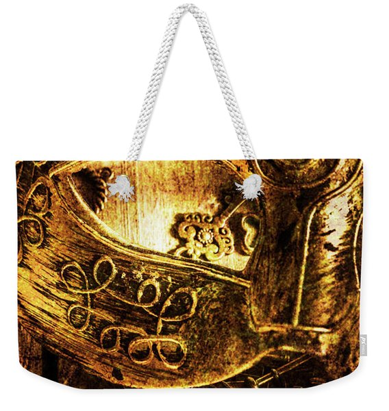 Cloaking A Kingdom In Demise Weekender Tote Bag