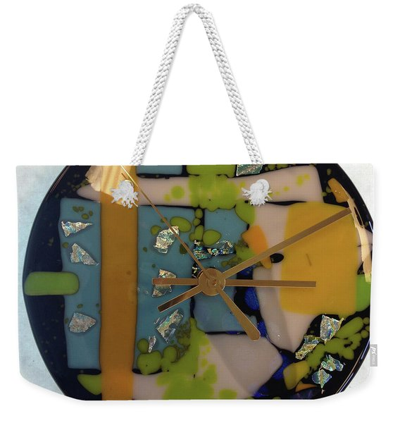 Clock Weekender Tote Bag
