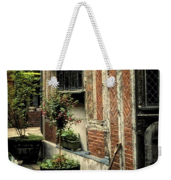 Cloister Garden - Cirencester, England Weekender Tote Bag