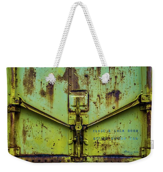 Close And Lock Weekender Tote Bag