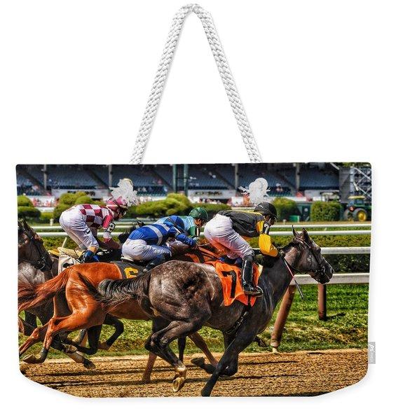 Close Running Weekender Tote Bag