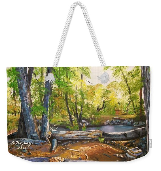 Close To God's Nature Weekender Tote Bag