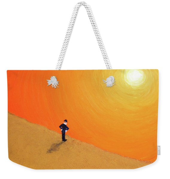 Close To The Edge Weekender Tote Bag