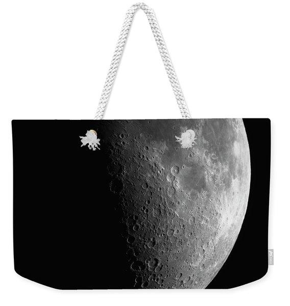 Close-up Of Moon Weekender Tote Bag
