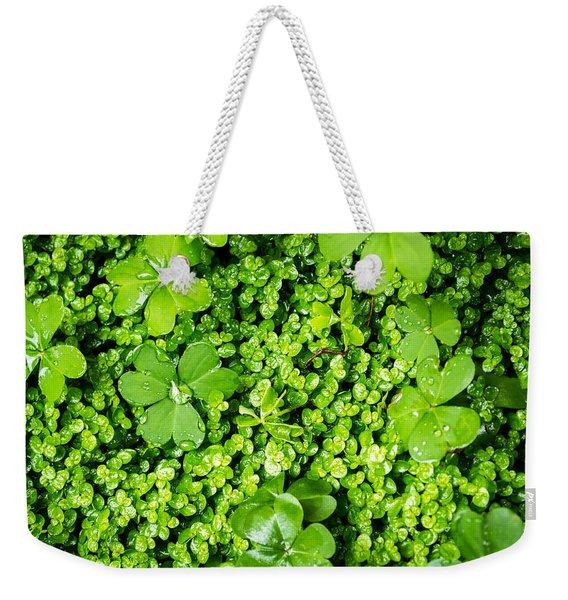 Lush Green Soothing Organic Sense Weekender Tote Bag