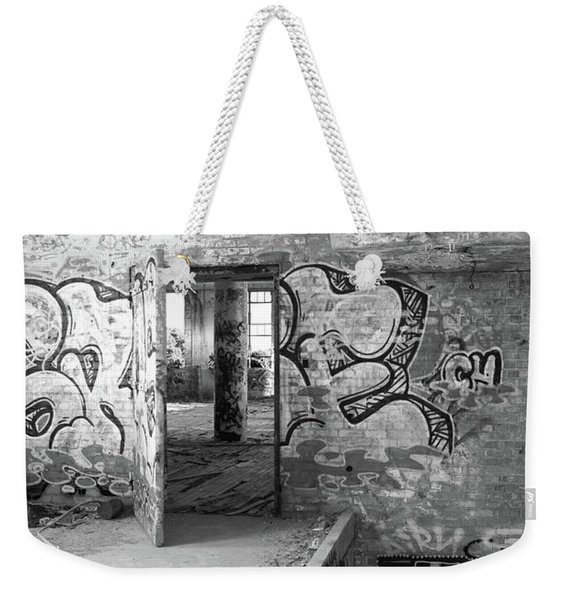 Clothcraft In Black And White Weekender Tote Bag
