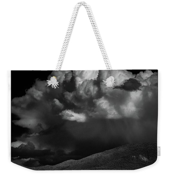 Cloud Burst Weekender Tote Bag