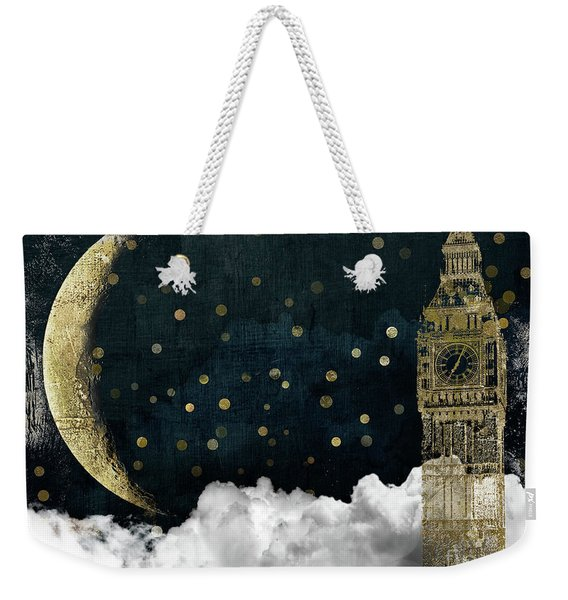 Cloud Cities London Weekender Tote Bag