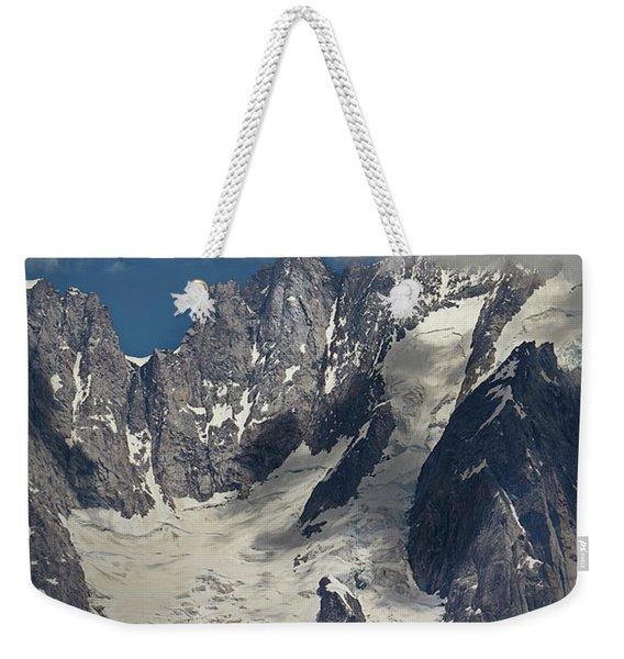Cloud Cover In The Alps Weekender Tote Bag