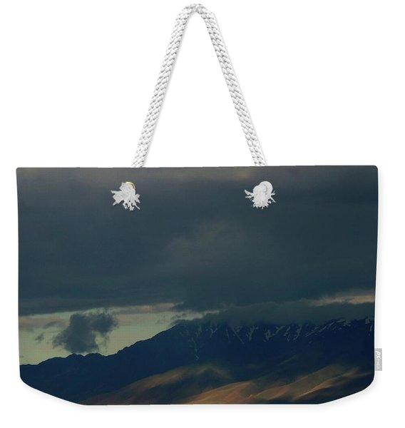 Cloud Filtered Weekender Tote Bag