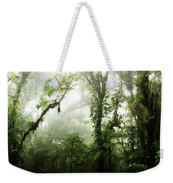Cloud Forest Weekender Tote Bag