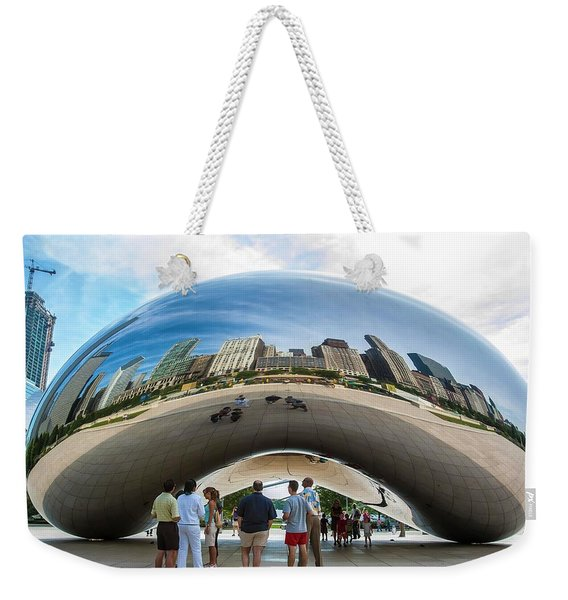 Cloud Gate Aka Chicago Bean Weekender Tote Bag