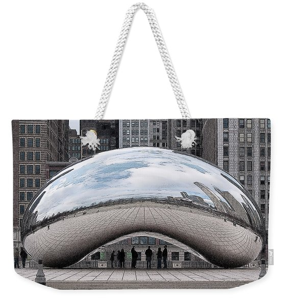 Cloud Gate Weekender Tote Bag